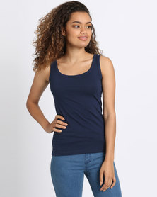 Utopia Basic Vest Navy