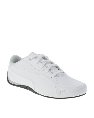 Puma Drift Cat 5 Carbon Sneaker White  fbf92409b
