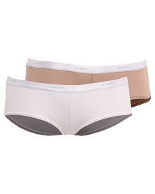 Jockey 2 Pack Cotton Stretch Panties Multi