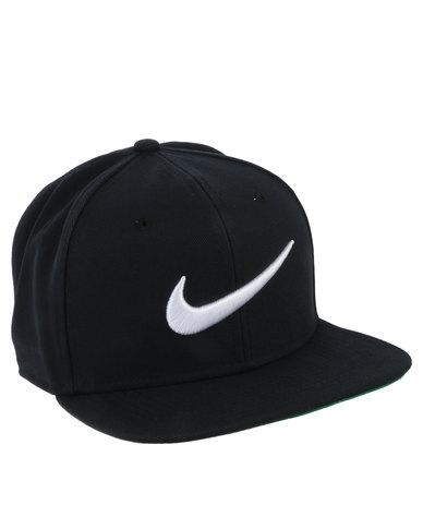 Nike Swoosh Pro Cap Black  3c5c20f7099