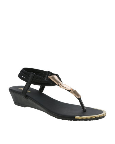 0fc216556 Bata Ladies Sandals Black