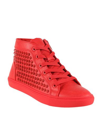 0f1ddb46d99 Steve Madden Ivyyy Sneaker Red