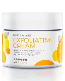 DISC Milk Solutions Milk & Honey Exfoliating Cream