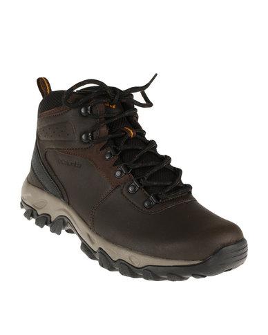 3f8b2eae60d Columbia Newton Ridge Plus II Waterproof Hiking Boot Brown