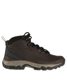 Columbia Newton Ridge Plus II Waterproof Hiking Boot Brown