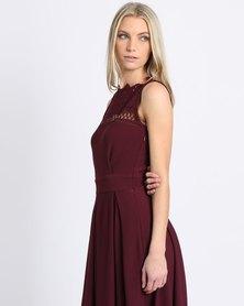 Larisa MODA Aria Dress Burgundy