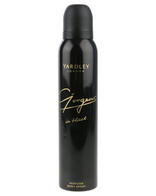 Yardley Gorgeous In Black Body Spray 150 ml