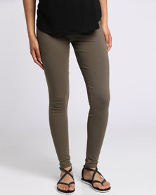 Utopia Basic Leggings Olive