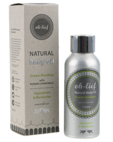 Oh-Lief Natural Products Green Rooibos and Roman Chamomile Bath & Body Oil