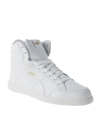 Puma IKAZ Mid Classic White  b815ee016
