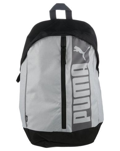 791d10e146 Puma Pioneer Backpack II Grey