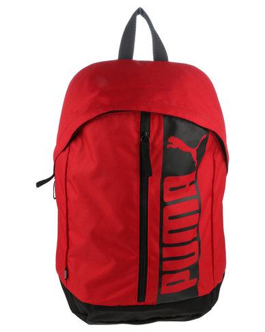 2055963b73 Puma Pioneer Backpack II Red