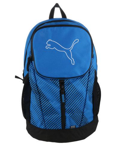 ef09cf386860 Puma Echo Backpack Blue