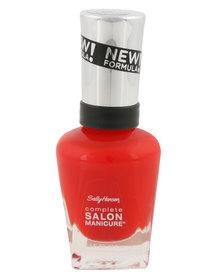 Sally Hansen Salon Manicure Nail Polish 554 Red