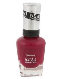 Sally Hansen Salon Manicure Nail Polish 639 Red