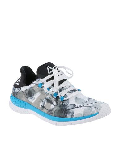 fbb1c0f6b4a Reebok Performance Reebok ZPrint Her G MTM Sneaker White