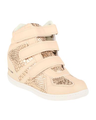 North Star Ladies Wedge Sneaker Gold