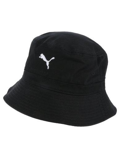 Puma Core Bucket Hat Black  94afcf21a8da