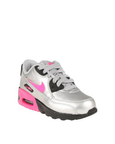 reputable site bc56d 73ce9 Nike Air Max 90 LTR (PS) Silver   Zando