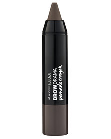 DISC Maybelline Brow Pomade Crayon Medium Brown 2