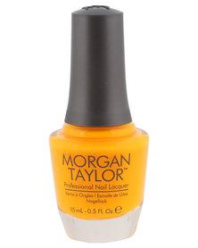 Morgan Taylor Street Cred-Ible Nail Polish Yellow