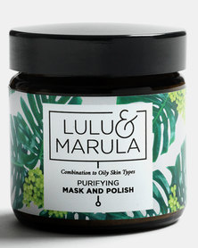 Lulu and Marula Purifying Mask & Polish 100ml