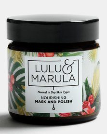 Lulu and Marula Nourishing Mask & Polish 100ml