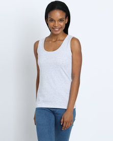 Fruit of the Loom Lady Fit Vest Grey