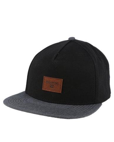 3db5e80ea Billabong Oxford Snapback Cap Black