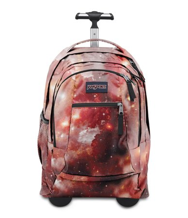 JanSport Driver 8 Travel Bag Backpack Multi Red Galaxy