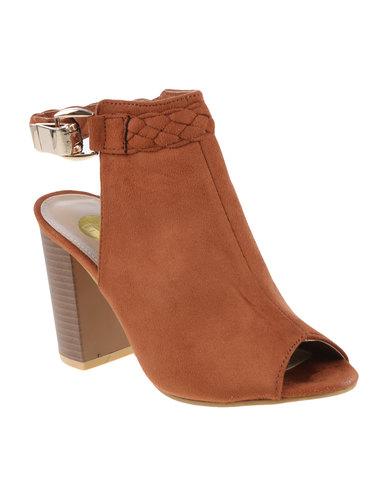 Seville Block Heel Sandals yPvKbg