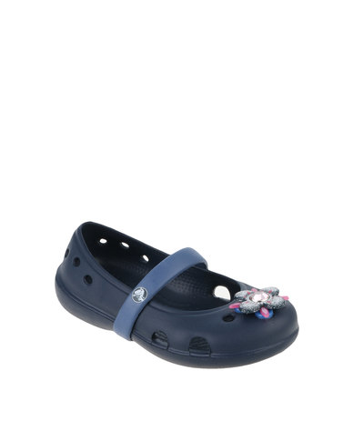 bb09b3d9c Crocs Keeley Springtime Flat Blue
