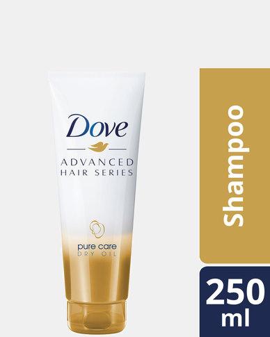 Dove Advanced Hair Series Pure Care Dry Oil Shampoo 250ml