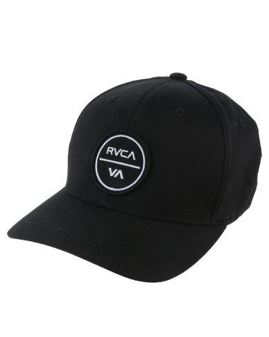 RVCA Shelter Flexfit Black  bad9f6fb76d