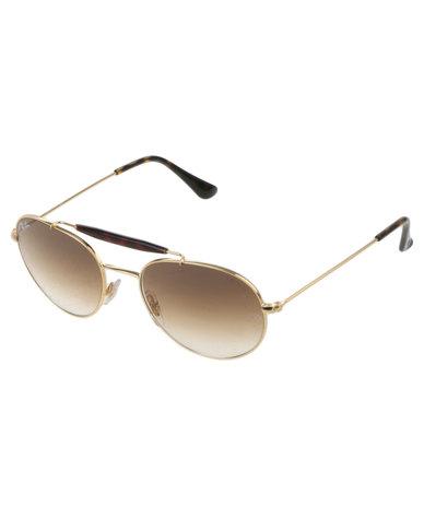 9e0e64e7f26e5 Ray-Ban RB3540 Sunglasses Gold-tone