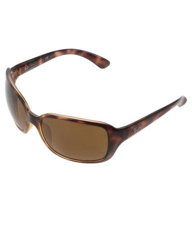 72f9987c62f Ray-Ban RB4068 Polarized Sunglasses Tortoise Shell