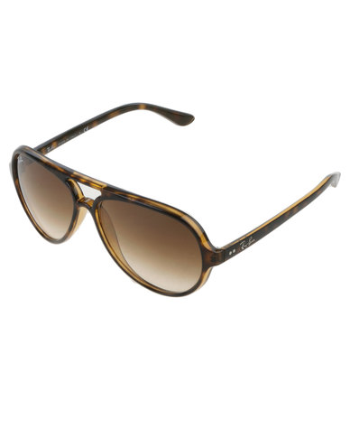 041408b72c Ray-Ban Cats 5000 Sunglasses Tortoise Shell