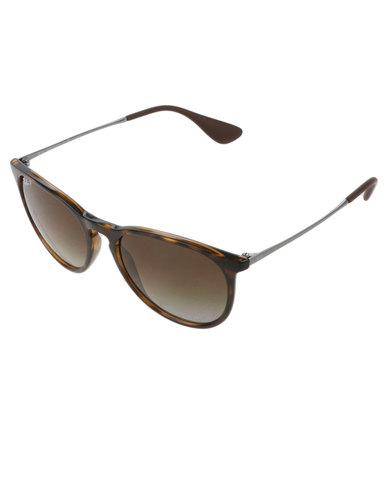 0c9b8c79fa Ray-Ban Erika Polarised Sunglasses Brown