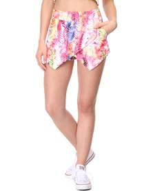 PEG Cross-Over Skort Tropical Multi