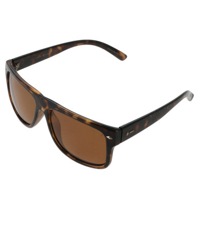 e6151f3c30 Dot Dash Plastic Polarised Sidecar Sunnies Bronze