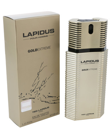 Ted Lapidus Pour Homme Gold Extreme 100ml Edt Spray Zando