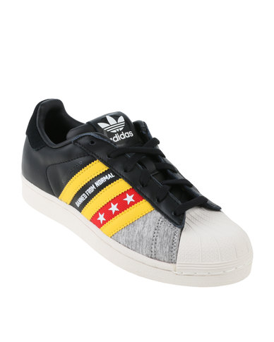adidas Superstar RO W DIY Sneaker Black/Yellow