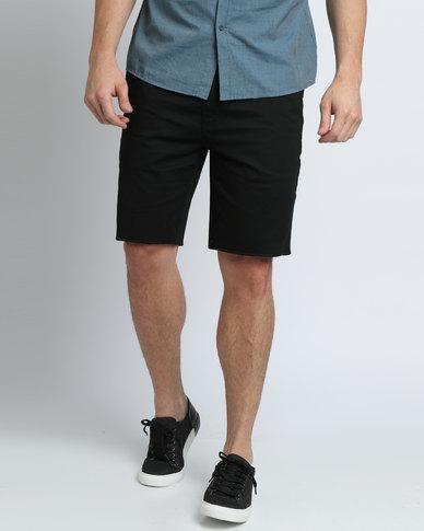 Brixton Toil II Shorts Black  94218f2747b