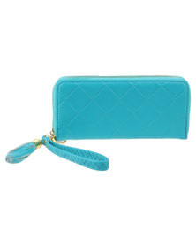 Joy Collectables Bright Ladies Wallet Blue