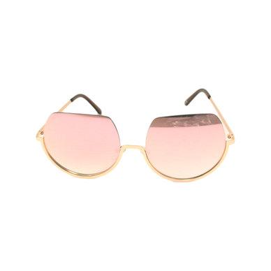 Lentes & Marcos Universitarial UV400 Rose Mirrored Sunglasses