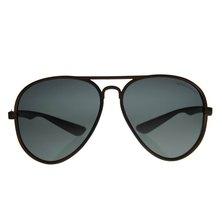 Lentes & Marcos Lucero Polarised Amber Aviator Sunglasses