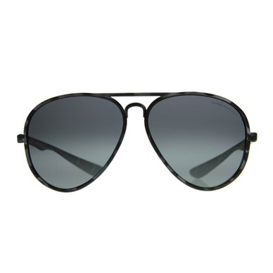 Lentes & Marcos Lucero Polarised Grey Tortoise-Shell Aviator Sunglasses