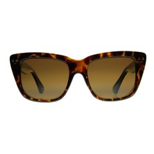 Lentes & Marcos O'Donnell Polarised Tortoise-Shell Cat-Eye Sunglasses