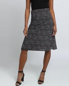 Assuili William de Faye Polka Dot Skirt Black