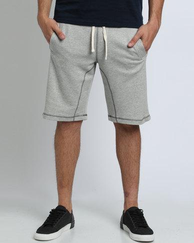 Polo Sport Mens Fleece Shorts Light Grey  b3313220a